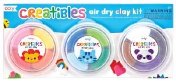 ooly: Creatibles DIY Air Dry Clay Kit