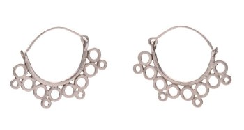 Laura Serrafero: Semi-Hoop Earrings