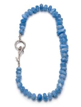 Laura Serrafero: Blue Opal Necklace