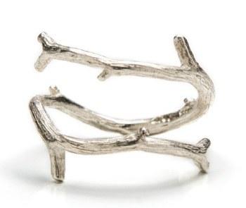 Laura Serrafero: Twig Ring