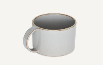 Mug Mushroom Gray