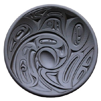 Corrine Hunt: Eagle Orca Platter