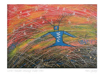 Alan Syliboy: Little Thunder Dancing Under Stars