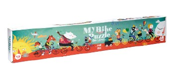 Londji: My Bicycle Puzzle Multicoloured