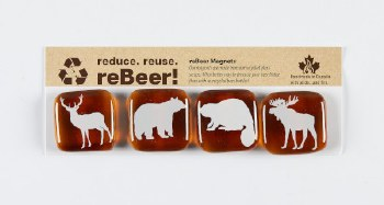 Artech Studio: Canadian Animal Magnets