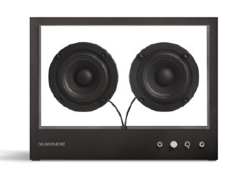Transparent Speaker: Black