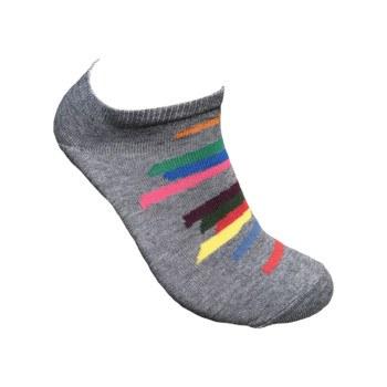 Jack Bush: Tempo Giusto Grey Ankle Sock