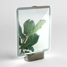 """Glo LED Photo Frame, 8"""" x 10"""", Nickel"""