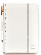 Blackwing Notebook with Pencil - Pearl | Blank
