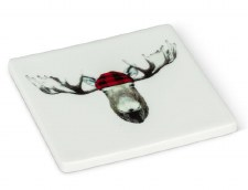Lumber Jack Moose Coaster