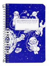 Michael Roger: Kittens in Space Small Notebook