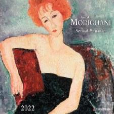 Amedeo Modigliani: 2022 Wall Calendar