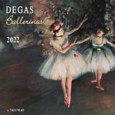 Edgar Degas: 2022 Wall Calendar