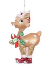 Ornament - Sassy Reindeer