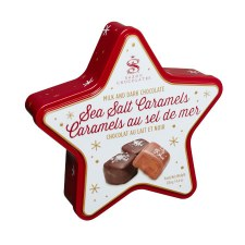 Saxon: Sea Salt Caramels Star Tin