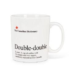 Canadian Dictionary Mug - Double Double