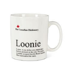 Canadian Dictionary Mug - Loonie