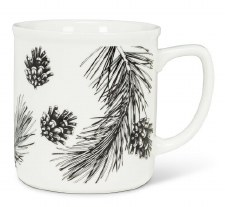 Pinecone and Branch Mug