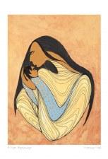 Maxine Noel: A New Beginning Matted Print