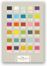 30 Nuances - 30 Shades of the French Colour Chart