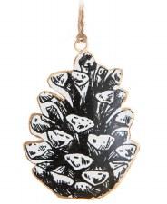 Ornament - Pinecone Wide