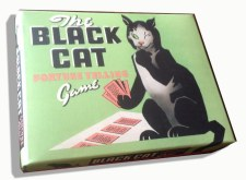 Black Cat Fortune Telling Card Game