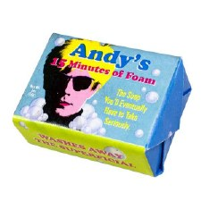 Andy's 15 Minutes of Foam Soap