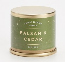 Balsam & Cedar Mini Tin Candle