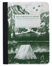 Michael Roger: Mountain Lake Large Notebook