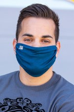 Moroccan Blue Mask - Large