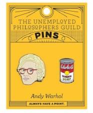 Andy Warhol & Soup Pin Set