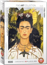 Frida Kahlo: Thorn Necklace Hummingbird Puzzle