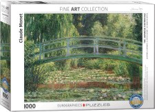 Claude Monet: The Japanese Footbridge Puzzle
