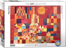 Paul Klee: Castle and Sun Puzzle