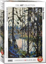 Tom Thomson: Study, Northern River Puzzle
