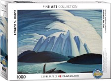 Lawren S. Harris: Lake & Mountains Puzzle