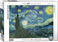 Vincent Van Gogh: Starry Night (Nuit Etoilee) Puzzle