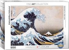 Katsushika  Hokusai: Great Wave Kanagawa Puzzle