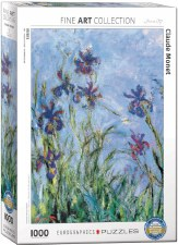 Claude Monet: Irises Puzzle