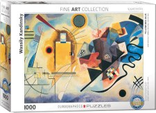 Wassily Kandinsky: Gelb, Rot, Blau (1925) Puzzle