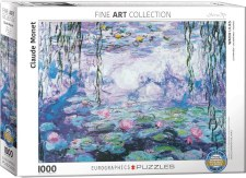 Claude Monet: Nympheas VI (Waterlilies) Puzzle