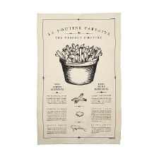 Whaaat? Studio Perfect Poutine Tea Towel