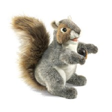Hand Puppet: Grey Squirrel