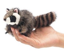 Finger Puppet - Raccoon