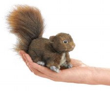 Finger Puppet - Red Squirrel