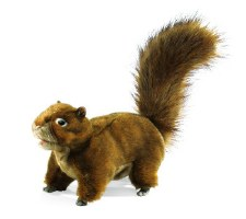 Hand Puppet: Red Squirrel