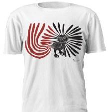 Kenojuak Ashevak: Enchanted Owl Artist T Shirt - Large