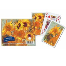 Vincent Van Gogh: Sunflowers Playing Cards