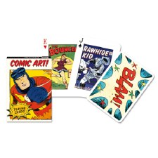 Comic Art Playing Cards