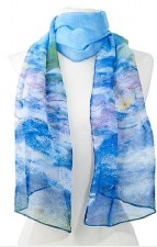 Chiffon Scarf -Claude Monet: Waterlilies